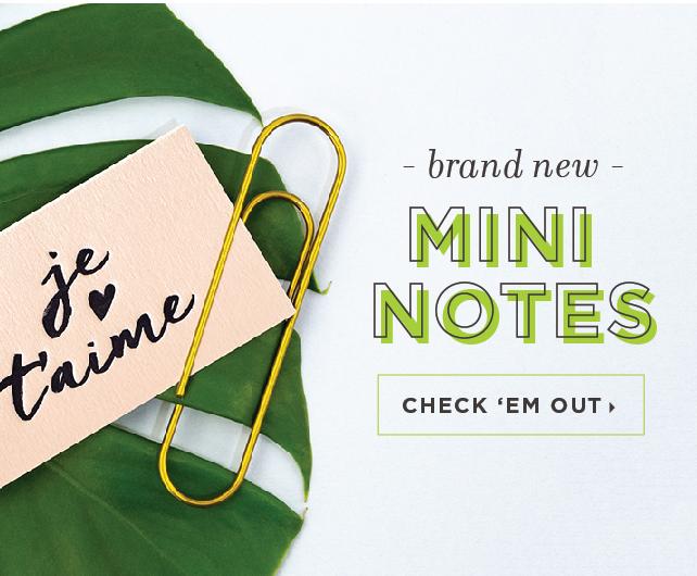 Letterpress Gift Enclosures