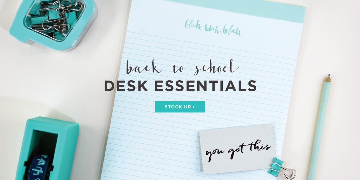 Elum Back to School Desk Accessories