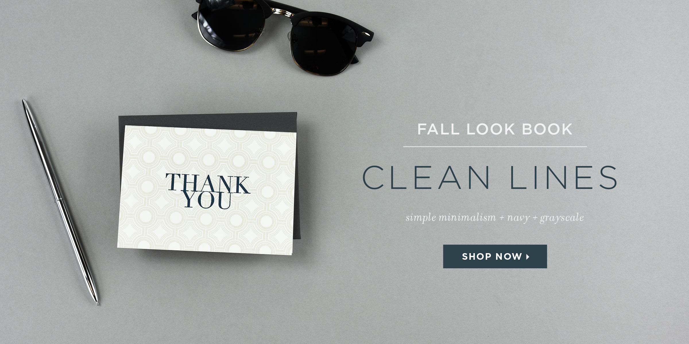 Elum Fall Look Book - Clean Lines