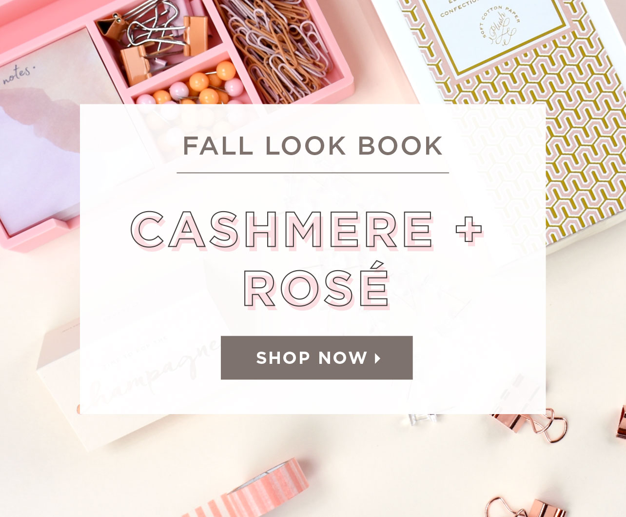 Elum Fall Look Book: Cashmere and Rose