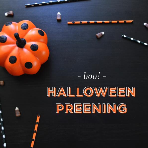 Halloween Preening