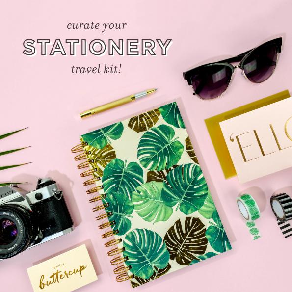 Summer of Stationery Travel Kit