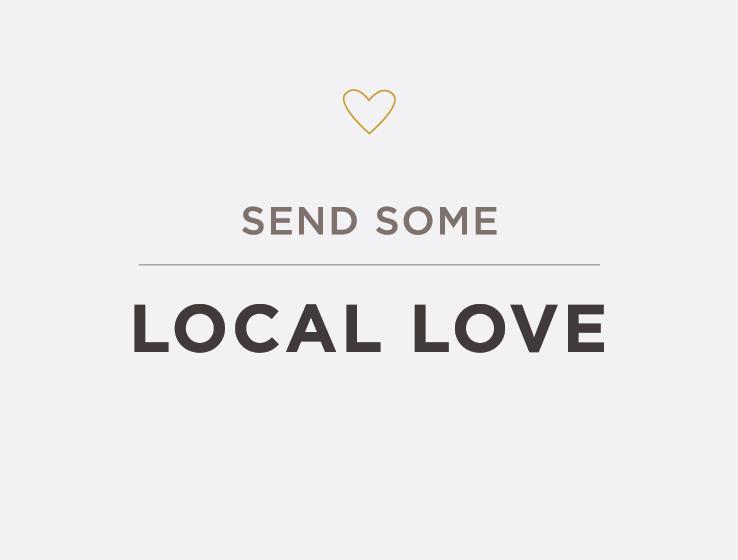 Elum Designs Letterpress Local Love Greeting Cards