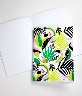 Jungle Spirit Letterpress Journal Set
