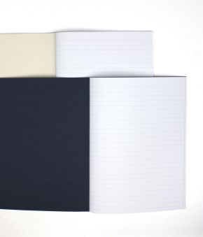 2 Pack Crescent Grid Letterpress Journal Set