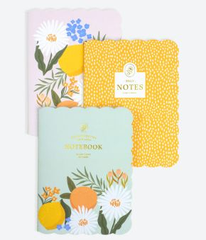 Citrus Florals 3-Pack Journals