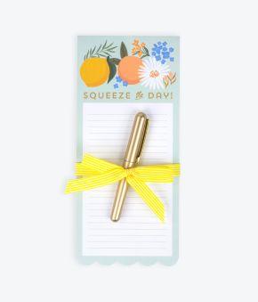Citrus Florals List Pad