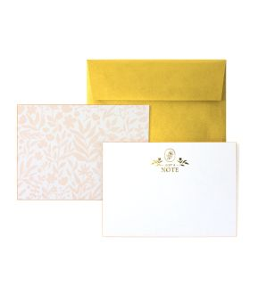 Edge Painted Note Boards - Lemon/Blush/Peach