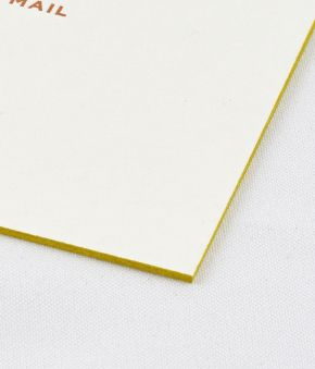 Edge Painted Note Boards - Sorbet/Lilac/Pear