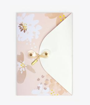 Floral Lustre Exposed Bound Journal