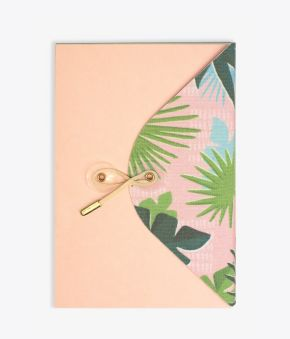Palm Forest Exposed Bound Journal