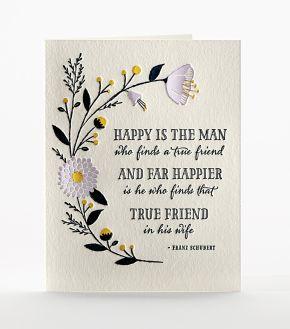 Friend in Marriage