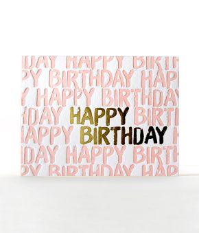 Blushing Birthday