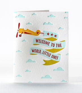 Flying Welcome