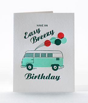 Easy Breezy Birthday