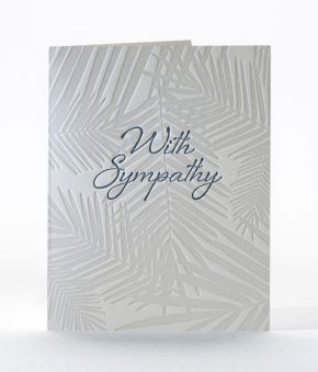 Elum Designs Sympathy Oasis Greeting Card