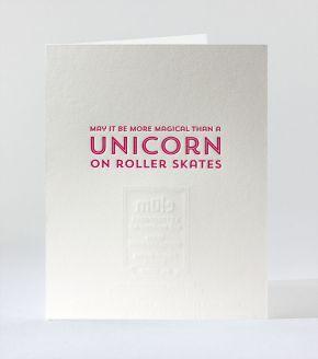 Magical Skating Unicorn