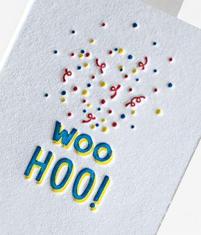 Confetti Spray Mini Notes - Set of 10