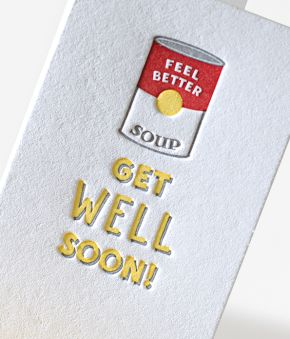 Get Well Soup Mini Notes - Set of 10