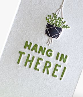 Hanging House Plant Mini Notes - Set of 10