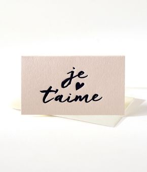 Je T'aime Mini Notes - Set of 10