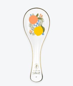 Citrus Florals Spoon Rest