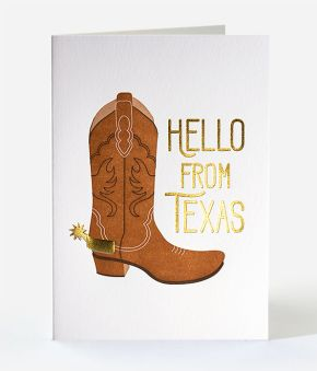 Iconic Texas Boot