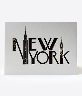 Iconic New York Skyline