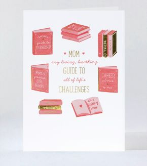 With Love From California Letterpress Greeting Card