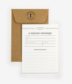 Minute Message Box Notes