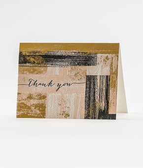 "Elum Designs Muse ""Thank You"" Letterpress Boxed Note Cards"