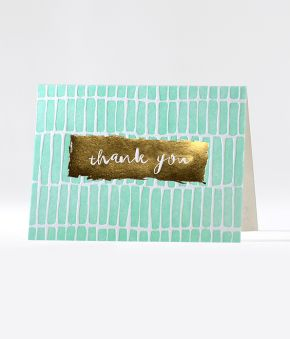 Swatches Thank You Notes