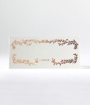Filigree Escort Cards