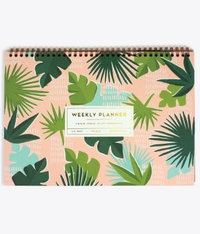 Paradise Palms Desk Weekly Planner
