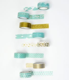 Dreamy Stars Paper Washi Tape