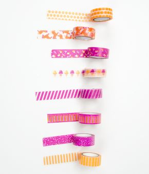 Party Explosion Paper Washi Tape