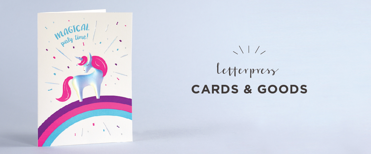 Letterpress Cards & Goods