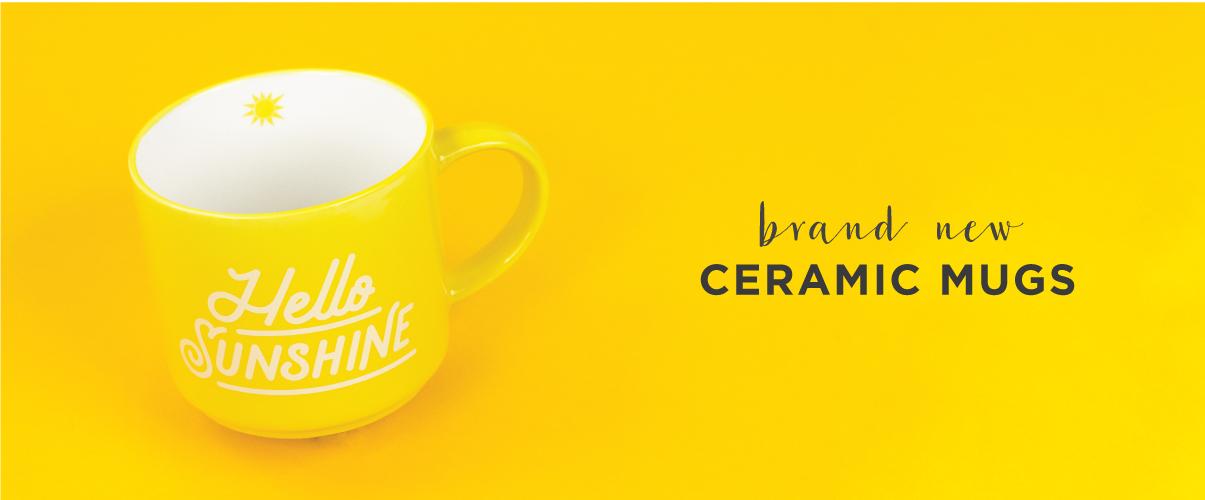 New Ceramic Mugs
