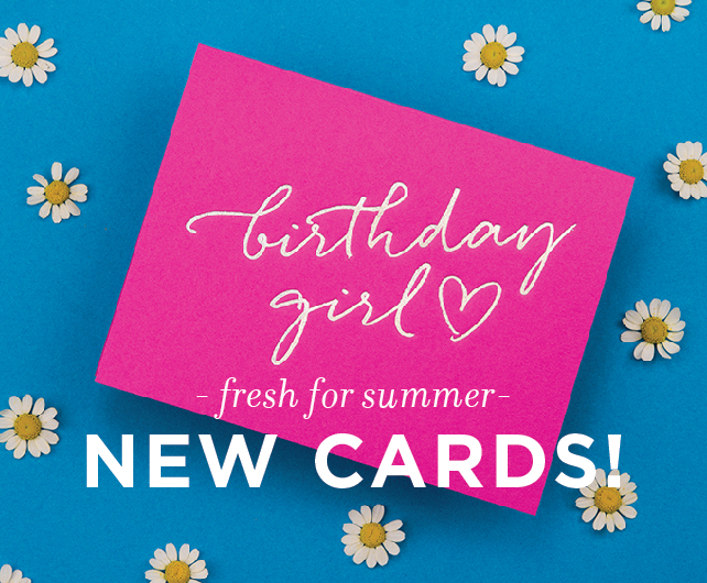 New Letterpress Greeting Cards