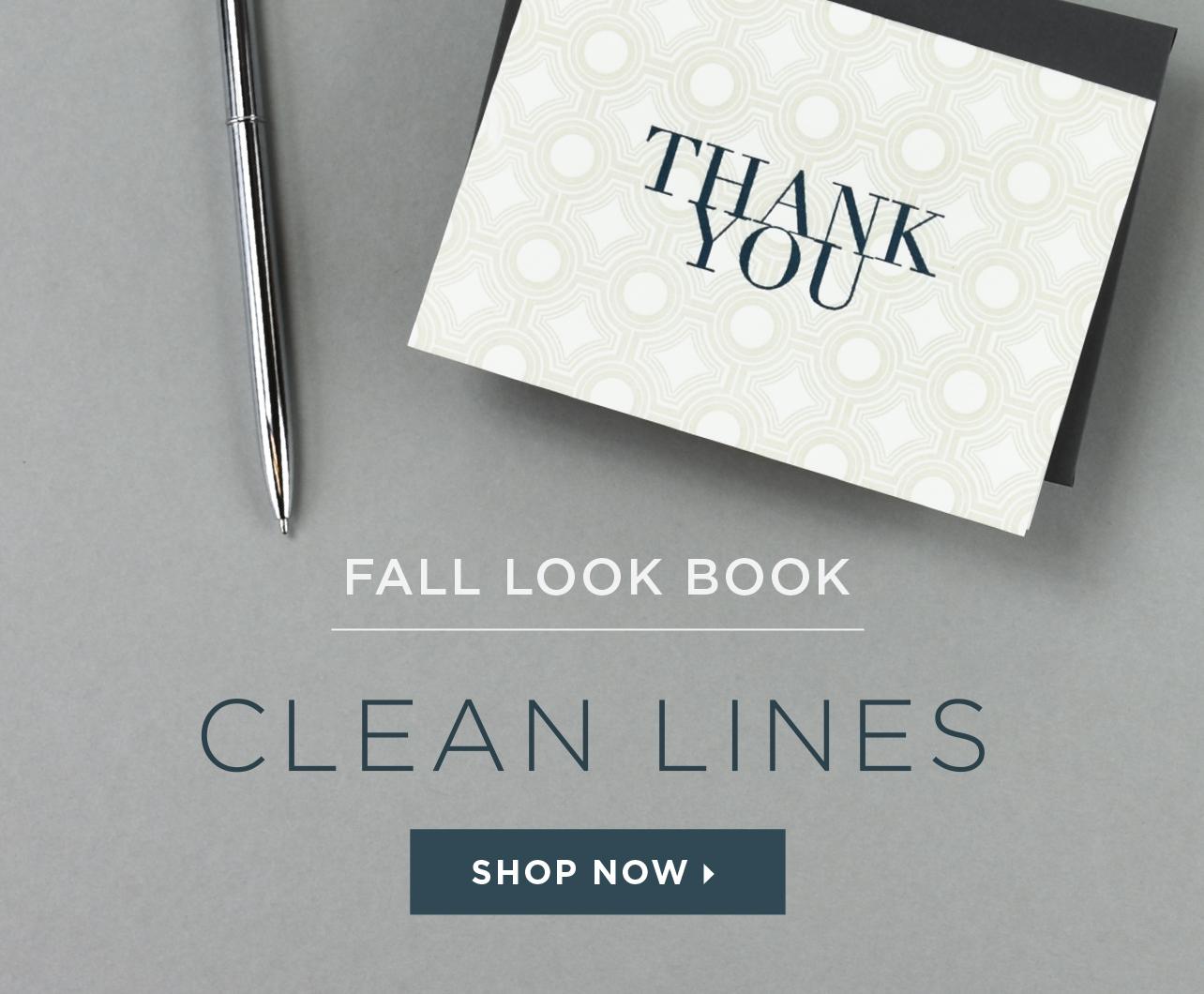 Elum Fall Look Book: Clean Lines