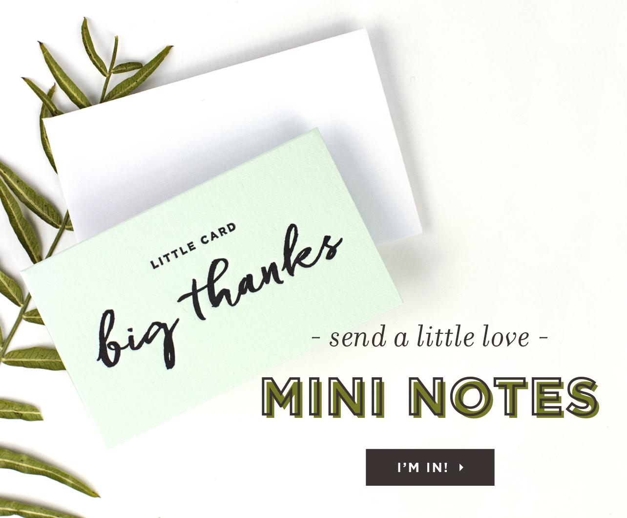 Mini Notes