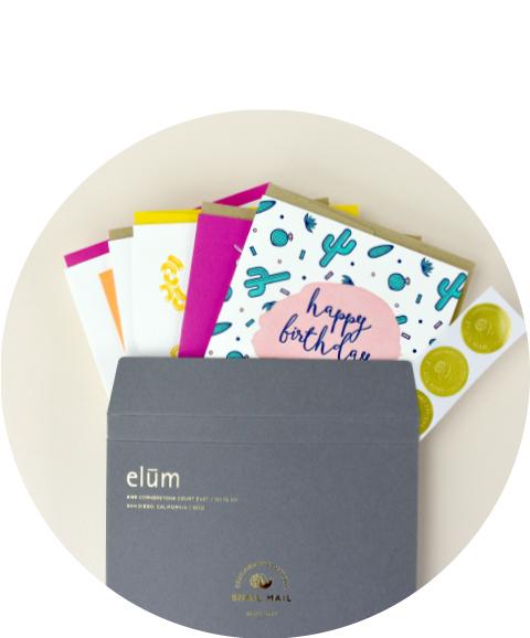 Elum Greeting Card Subscription
