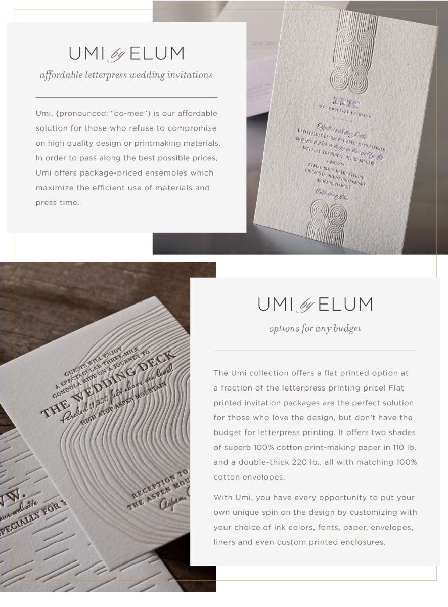 Elum Designs | Letterpress, Stationery & Gifts Custom Letterpress