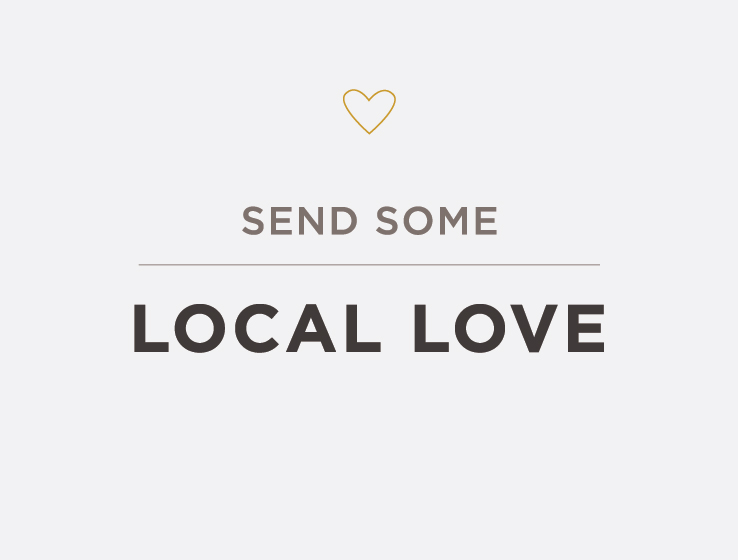 Elum Designs Letterpress Local Love Greeting Cards